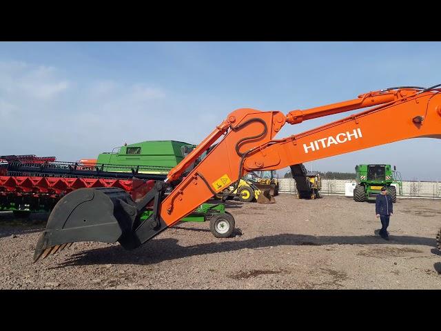 Відео 1 Hitachi ZX350 LCH-3