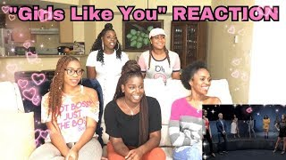 "Maroon 5 Ft  Cardi B ""Girls Like You"" Official Video Reaction"