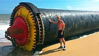 10 STRANGEST Things Found On The Beach!