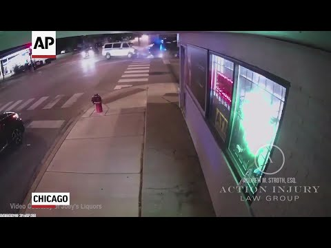 Family members of an 84-year-old woman killed last month when two Chicago Police vehicles slammed into a car she was riding in say a lack of officer training in pursuits led to her death.(June 11)