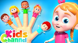 Finger Family Song | Nursery Rhymes for Kids | Schoolies Cartoon Videos - Kids Channel