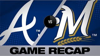 Yelich Hits Grand Slam In Brewers 13-1 Win   Braves-Brewers Game Highlights 7/16/19