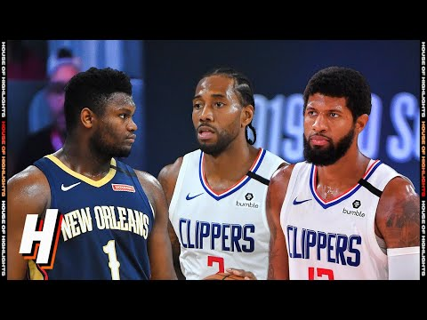 New Orleans Pelicans vs Los Angeles Clippers – Full  Highlights   August 1   2019-20 NBA Season