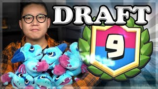 Real Life Minion Horde Unboxing & Draft Challenge   Clash Royale 🍊