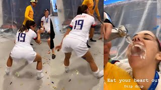 Alex Morgan Twerks After Women's World Cup Victory