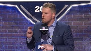 Pat McAfee Hilariously ROASTS the Titans During Colts Selection 😂 | 2019 NFL Draft
