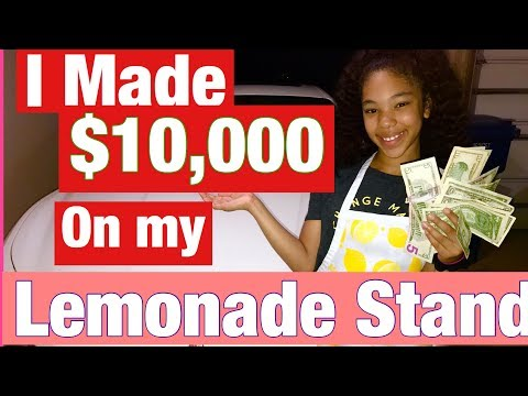 , title : 'How to Make $10,000 on a Lemonade Stand!!