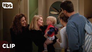 Friends: Ross And Rachel Hear Ben Say His First Word (Season 2 Clip)   TBS