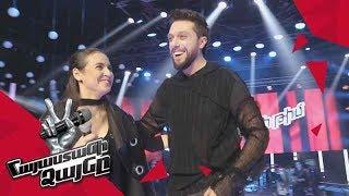 Anna Danielyan ft. Aram MP3 sing 'Not Alone' - Gala Concert – The Voice of Armenia – Season 4