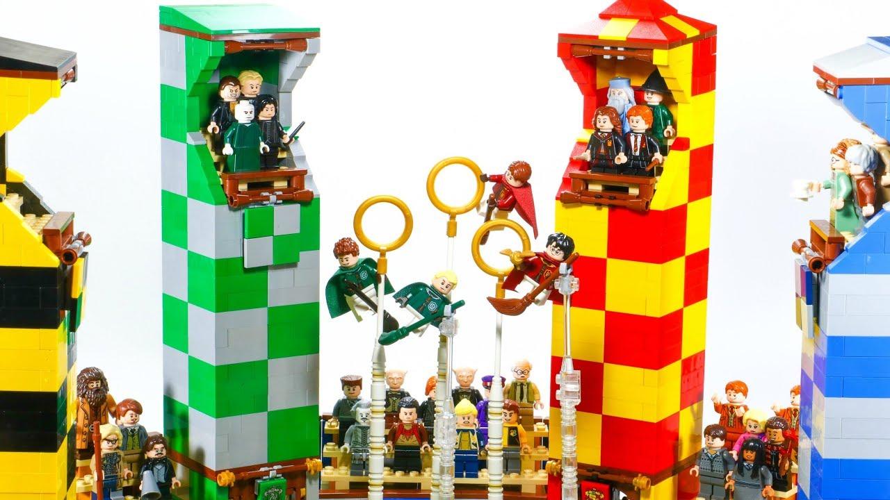 MASSIVE LEGO Harry Potter Quidditch MOC⎜Full Tour!