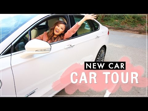 Test Driving a New Car + Car Tour! | ilikeweylie