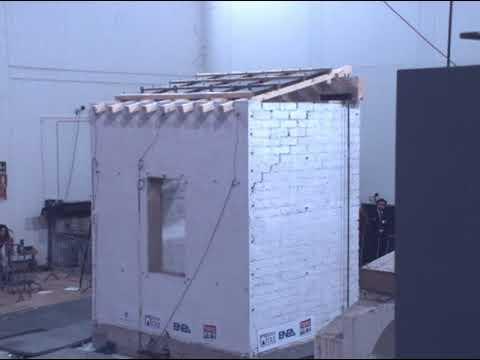 ENEA Channel - Test sismici su tavole vibranti