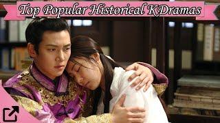 Top 25 Popular Historical Korean Dramas 2016 All The Time