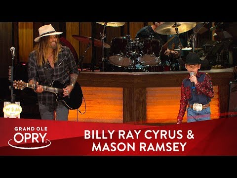 Billy Ray Cyrus & Mason Ramsey -