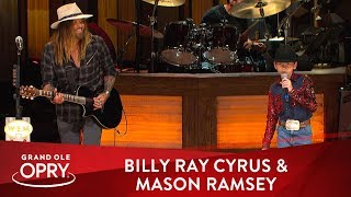 """Billy Ray Cyrus & Mason Ramsey   """"Old Town Road"""" 