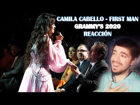 CAMILA CABELLO - FIRST MAN (GRAMMYS 2020) REACCIÓN/REACTION