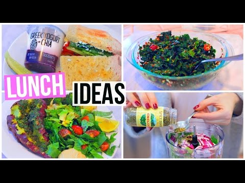 Video 3 SIMPLE & HEALTHY LUNCH IDEAS! Nikkiphillippi