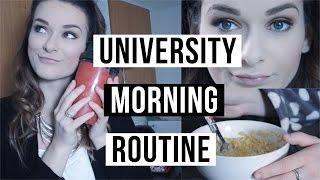 University Morning Routine | ohhitsonlyalice