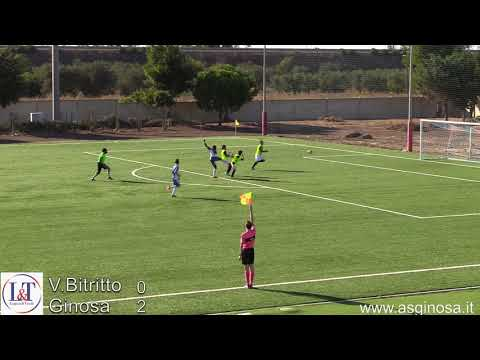 Preview video V.BITRITTO-GINOSA 0-2 Ginosa corsaro anche a Bitritto