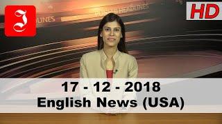 News English USA 17th Dec 2018