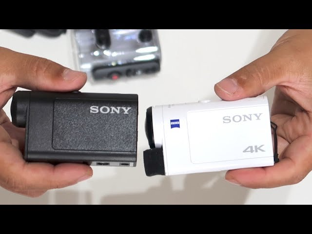 Видео SONY HDR-AS50
