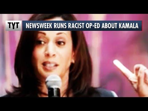 Newsweek Runs Racist Op-Ed About Kamala Harris