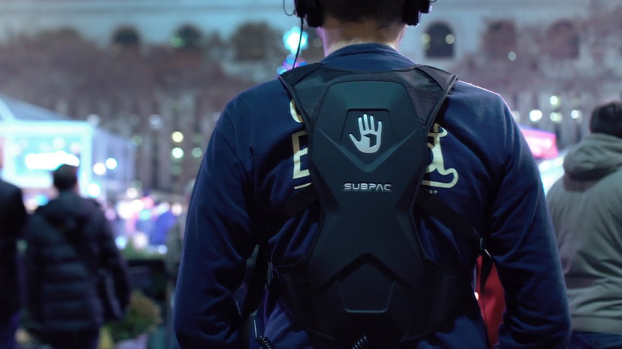 The SubPac M2 is a backpack with bass thumbnail