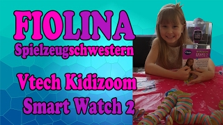 Vtech Kidizoom Smart Watch 2 Deutsch - Jolinas 5. Geburtstag (Teil 2) - Unboxing Spielzeug