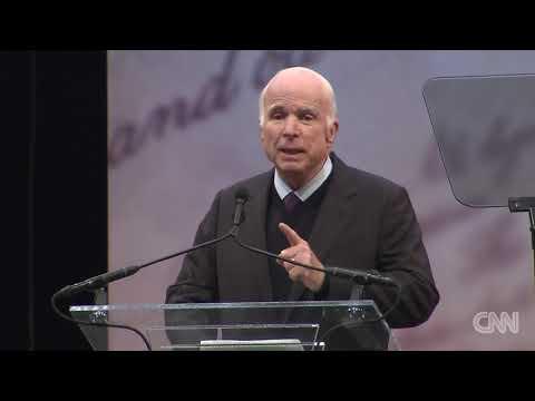 McCain's full speech at Liberty Medal ceremony
