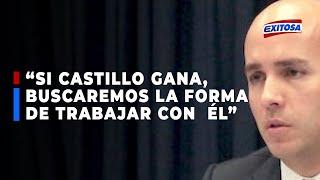 EE.UU. BUSCARA TRABAJAR CON EL FUTURO GOBIERNO DE PEDRO CASTILLO