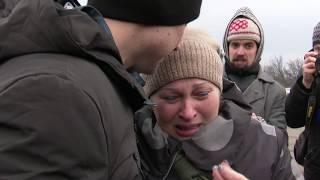 Полонені українці зустрілися з рідними: зворушливе відео