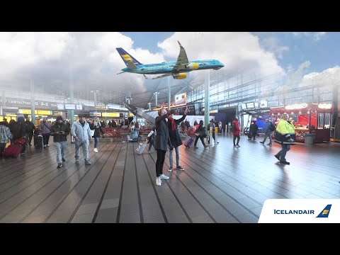 Icelandair - Augmented reality stopover experience!