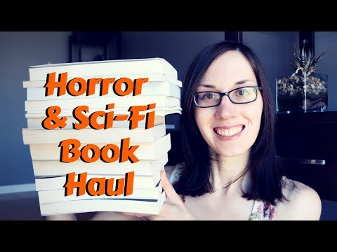 Horror & Science Fiction Book Haul