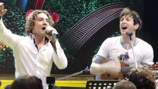 Que cante los niños. Axel, David Bisbal y Luis Fonsi.... UN SOL 2011