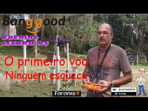 teste-drone-lizard95-eachine-e-rádio-frsky-taranis-q-x7-by-elio-martin--voe-comigo