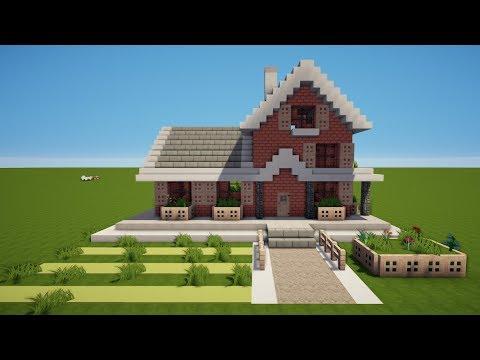Wie Baut Man Ein Modernes Haus In Minecraft Minecraft Modernes - Minecraft haus bauen video