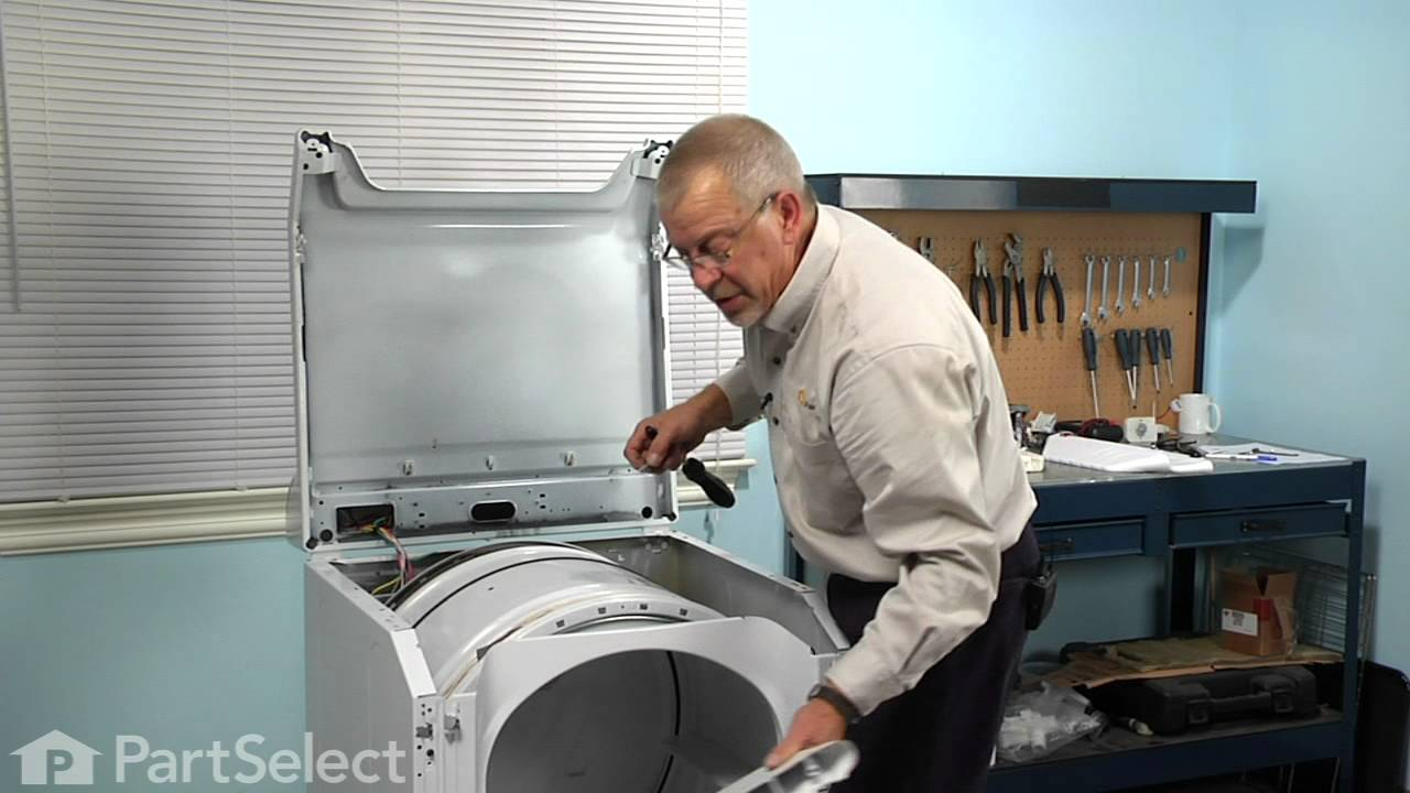 Replacing your Maytag Dryer Short Baffle