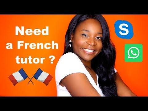 Skype French Lessons with me ! (Online French tutoring)