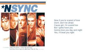 NSYNC I Just Wanna Be With You