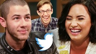 Demi Lovato and Nick Jonas Let Twitter Make Their Decisions thumbnail