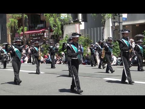 銀座柳まつり'17 パレード 34 中央区日本橋中学校吹奏楽部