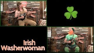 Irish Washerwoman Mandolin Duet Lesson!