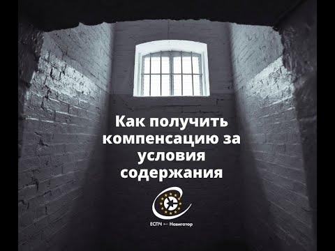 """🖥 Вебинар """"Как получить компенсацию за условия содержания в местах лишения свободы"""""""