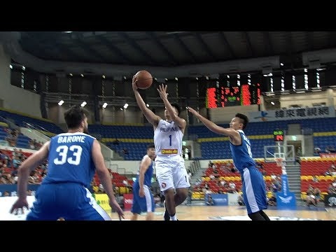 Kiefer Ravena with the NASTY Spin Move! (VIDEO) Jones Cup 2017