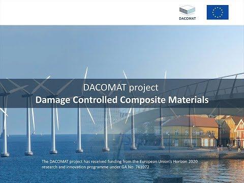 DACOMAT EU prosjekt, Komposittmaterialer med skadekontroll