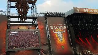 """Apocalyptica  - """"Creeping Death""""  (Metallica cover). WACKEN 2017"""
