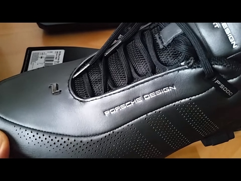 new styles ed004 4f7e5 The First Adidas Porsche Design S4 Leather Bounce P5000 Unboxing and Review