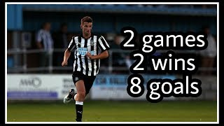 Newcastle United U23's are flying! | 8 goals in 2 games