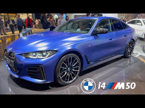 BMW i4 M50 2022 Review - Good looks, more expansive & still NOT fast as Tesla Model 3 Performance