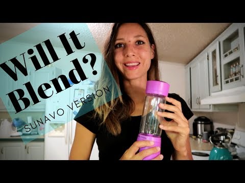 Weird Synchronicity!   Sunavo Portable Blender Review & My Recipes